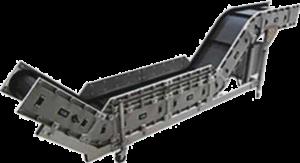 convoyeur modulaire angle 45°