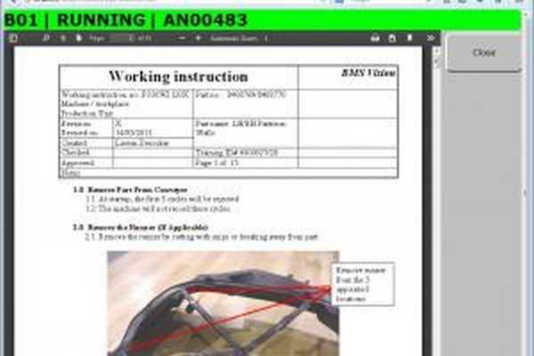 logiciel-production ordonnancement MES
