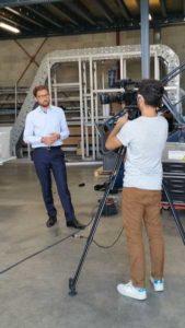reportage TV TLM