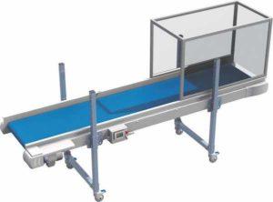 système convoyage plat, convoyeur industriel
