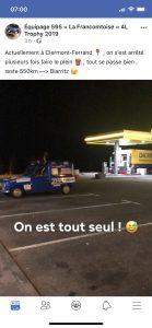 Départ pour Biarritz