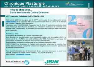 FARPI-FRANCE dans la Chronique plasturgie