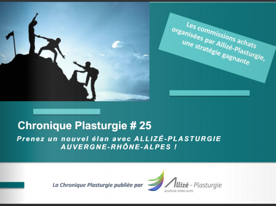 Chronique plasturgie Allizé Plasturgie