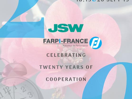 Journees techniques anniversaire JSW FARPI