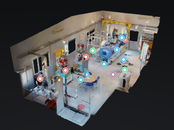Montrer une vue 3D aérienne de notre centre d'Essais