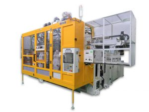 Fabricant machine d'extrusion-soufflage électrique